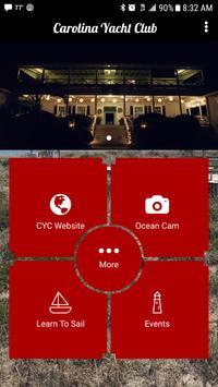 Carolina Yacht Club - NC poster