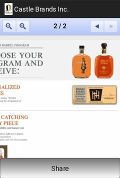 Castle Brands Inc. apk screenshot