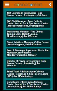 Casino Careers App screenshot 1