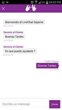 Centro de Relevo Live Chat screenshot 2