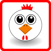 GUIDE screaming chicken icon