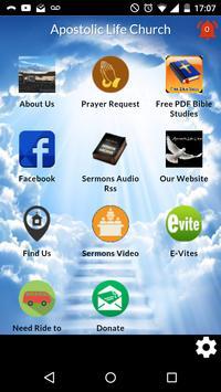 Apostolic Life Church poster