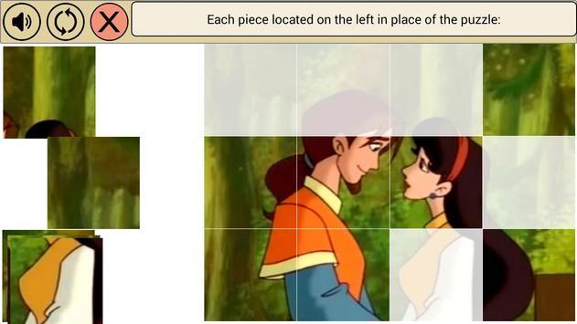 SnowWhite Puzzles apk screenshot