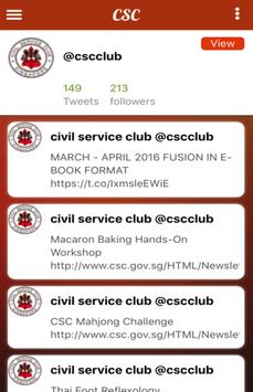 Civil Service Club screenshot 1