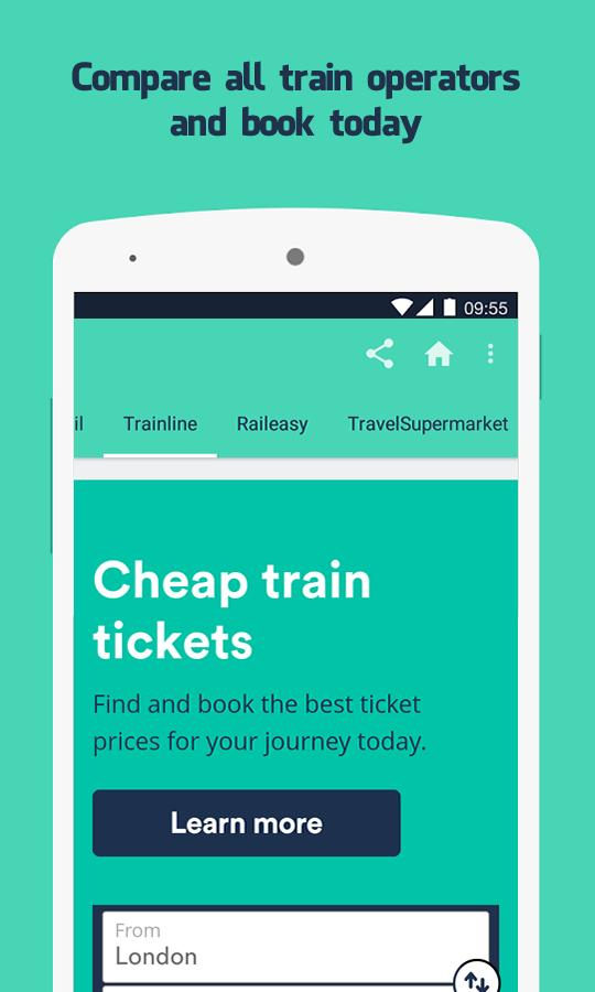 Cheap Train Tickets for Android - APK Download