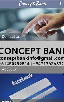 Concept Bank poster