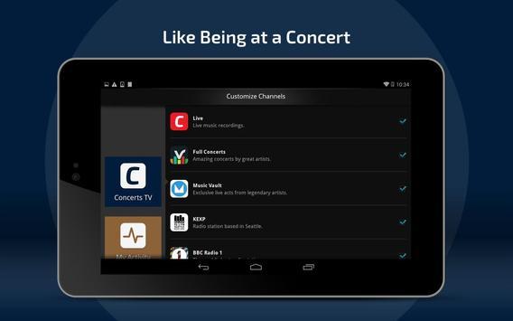 Concerts TV screenshot 7