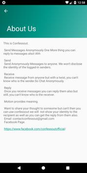 Confessout | Send and Reply Anonymously screenshot 7