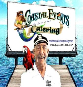 Coastal Events Catering poster