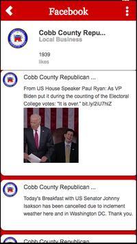 Cobb GOP poster