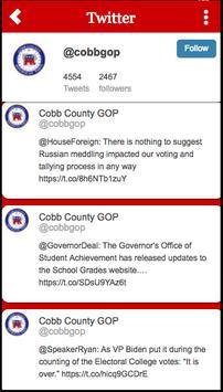Cobb GOP screenshot 1