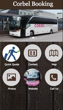 Corbel Booking poster