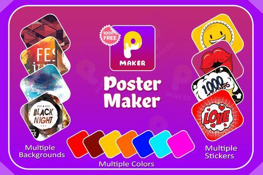 Poster Maker & Poster Lab Plus screenshot 1