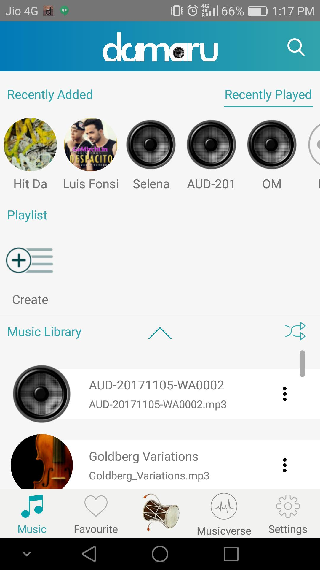 Damaru Media Player for Android - APK Download