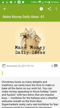 Make Money Daily Ideas screenshot 3
