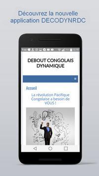 Debout Congolais Dynamique poster