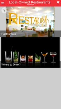 DINING LOCALLY apk screenshot