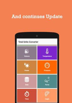 Total Unit Converter apk screenshot