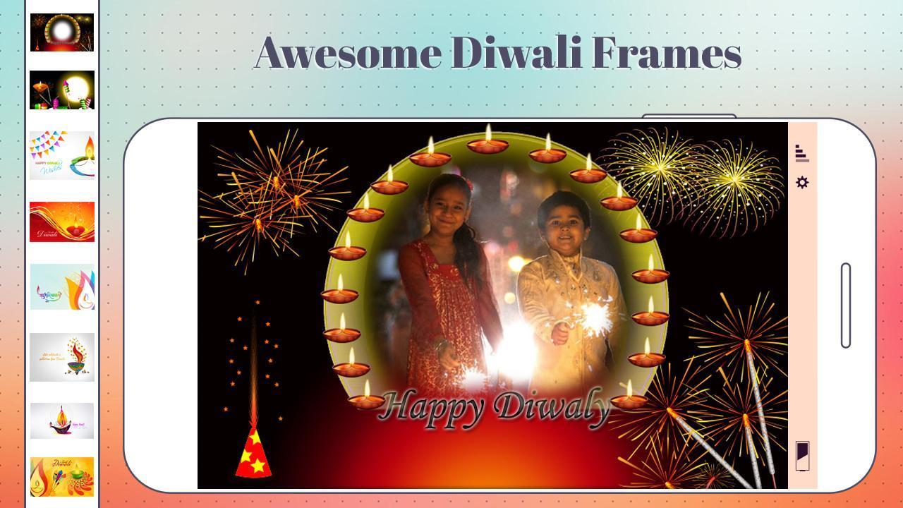 Diwali Greeting Cards Maker of 2019 poster