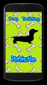 Dog Training Whistle poster