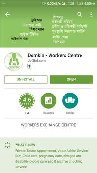 Domkin - Workers Centre poster