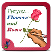 How to Draw Flowers and Roses icon