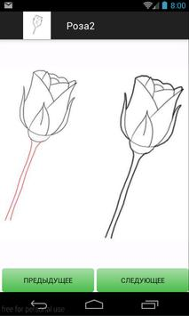 How to Draw Flowers and Roses apk screenshot