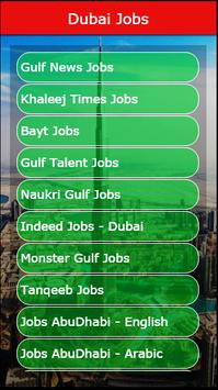 Dubai Jobs poster