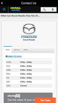 Duval Mazda apk screenshot