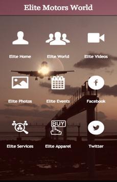 Elite Motors World poster