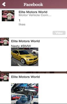 Elite Motors World apk screenshot