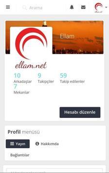 Ellam Sosyal Medya, Türkiye Türk Soyal Ağ screenshot 2