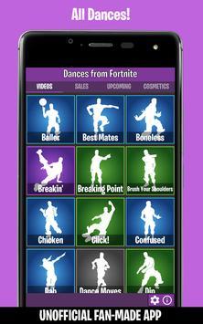 Dances from Fortnite (Ad-Free) ポスター