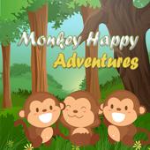 Monkey Happy Adventures icon