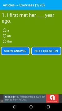 English Grammar App Offline apk screenshot