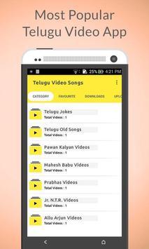 Telugu Video Songs poster