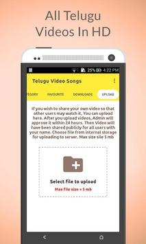 Telugu Video Songs screenshot 1