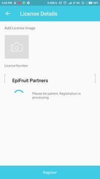 EpiFruit Delivery partner screenshot 2