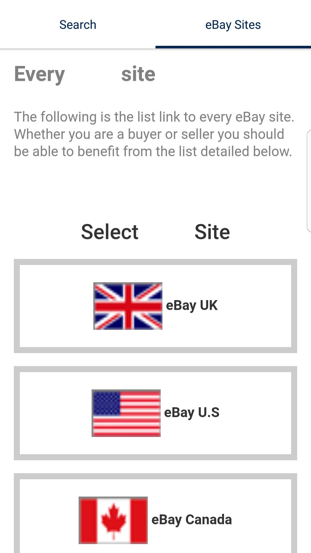 Global World Search For Ebay For Android Apk Download