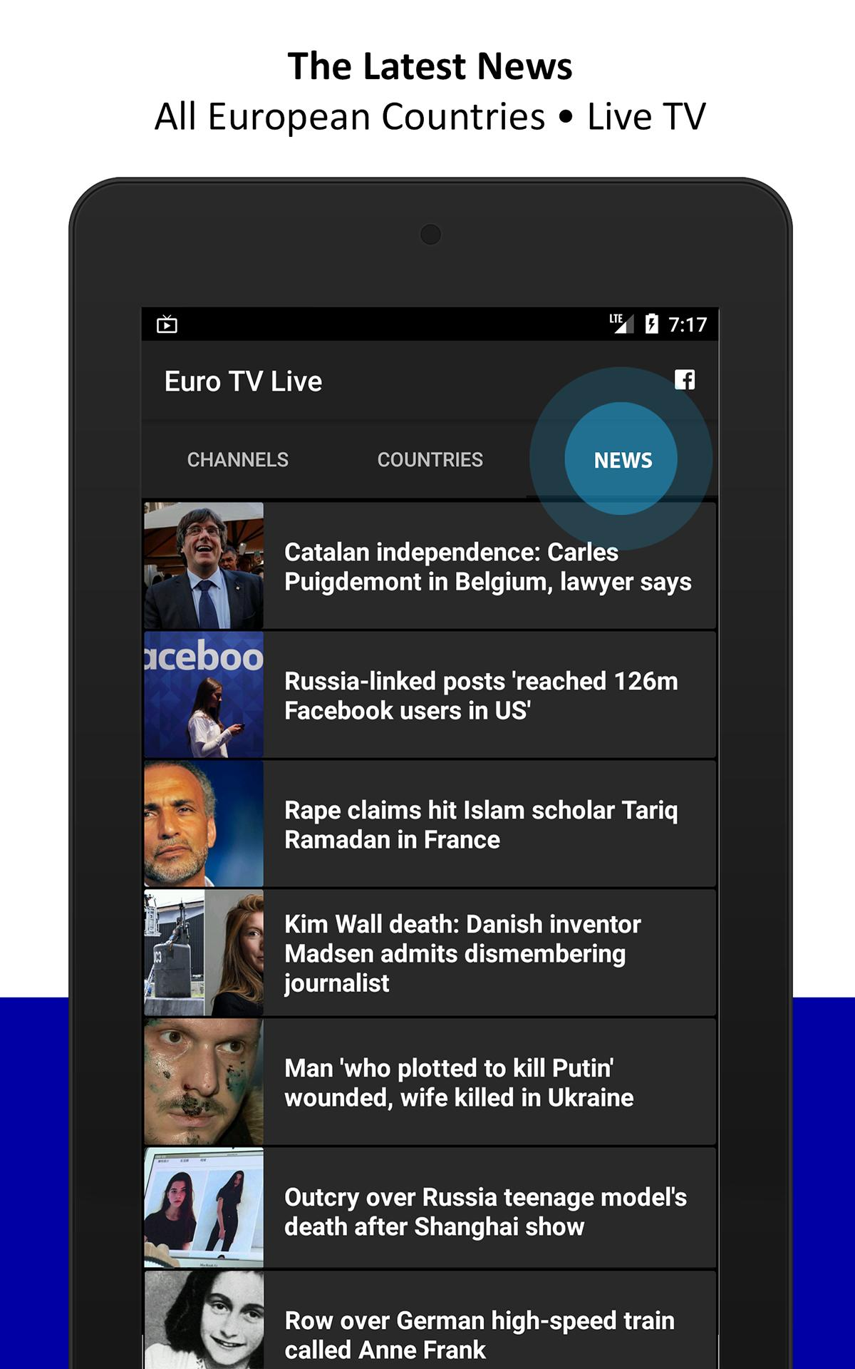 Euro Tv Live For Android Apk Download