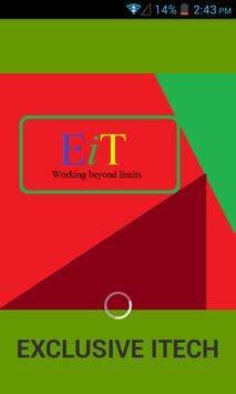 Exclusive iTech-Working beyond limits! poster