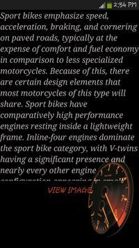 Motorcycle Types screenshot 3