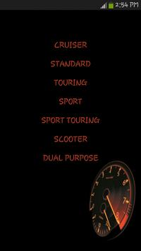 Motorcycle Types screenshot 1