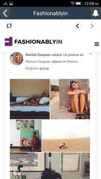 Fashionablyin apk screenshot