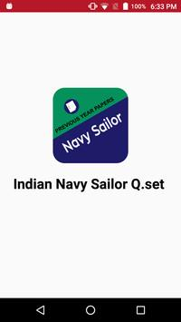 NAVY SAILOR QUESTION PAPERS poster