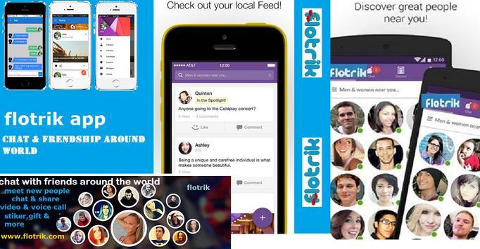 flotrik-chat & friendship apk screenshot