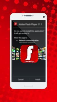 Flash Player For Android Reference apk screenshot