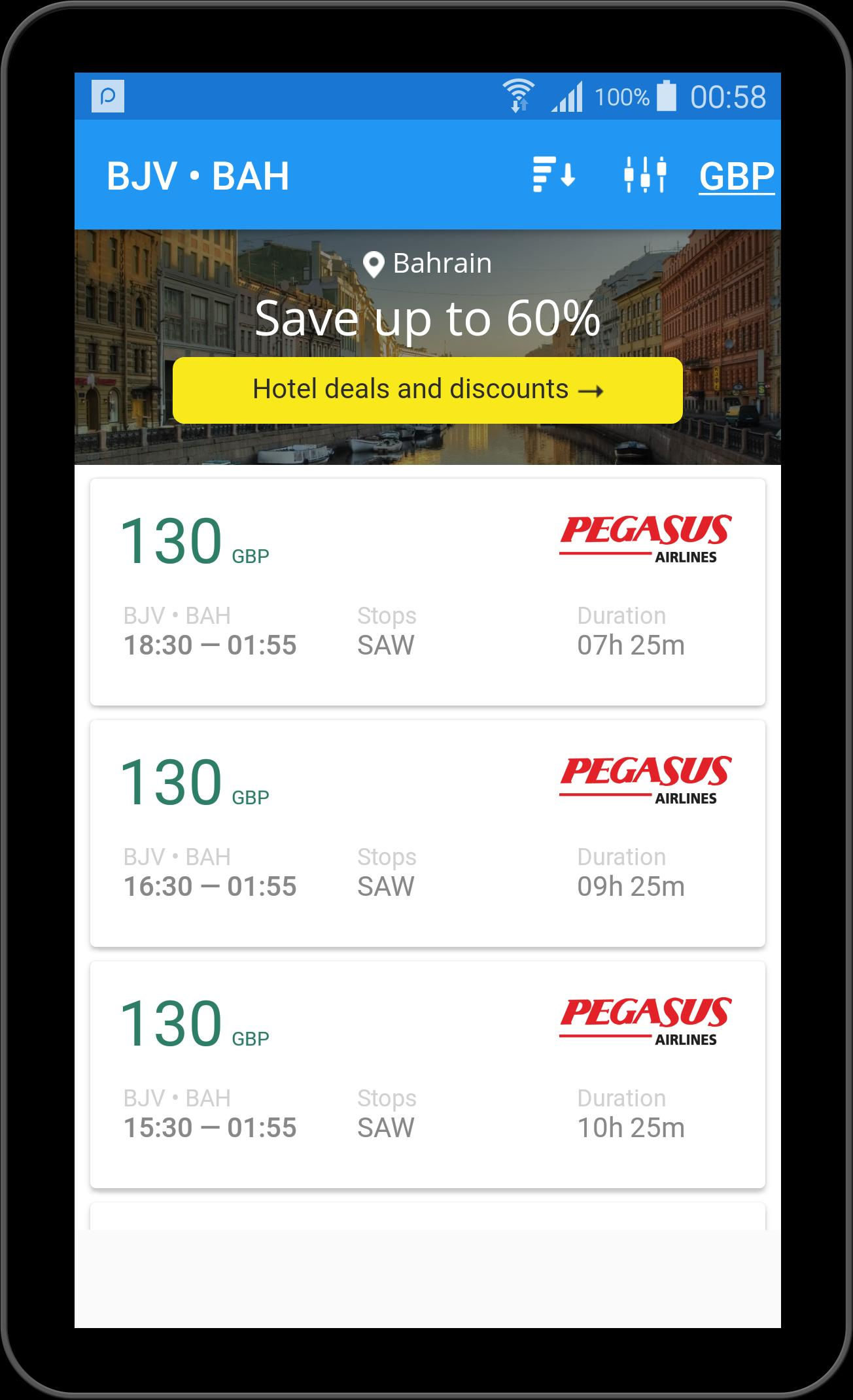 Flight booking app - Tickets booking for Android - APK Download