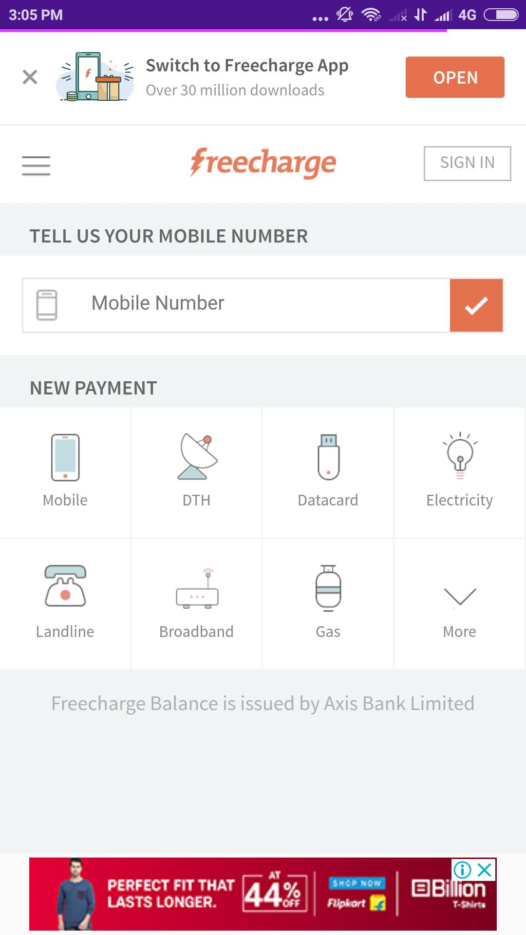 FreeCharge for Android - APK Download