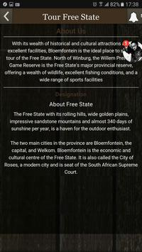 Tour Free State apk screenshot